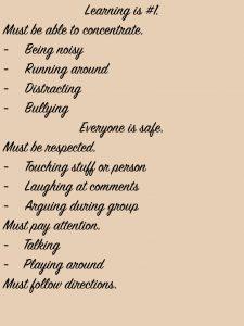 Classroom Rules 2