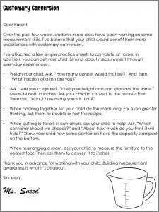 Teachers Are Responsible for Student Learning - Parent Letter