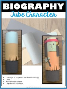 Biography Crafts 5 - Character Tube