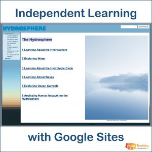 Independent Learning with Google Sites