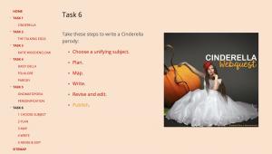 Cinderella Webquest Task 6