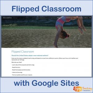 Flipped Classroom with Google Sites