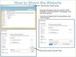 Collaborative Websites - Sharing with Classic Google Sites