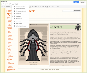 Creating an eBook with Google Sites 2