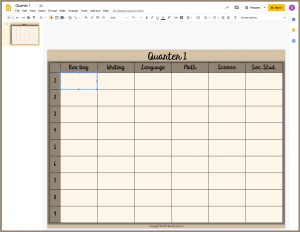 Insert Text Boxes on Top of Your Lesson Plans