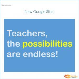 Make New Google Sites
