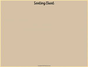 Change the Background for Your Digital Seating Chart