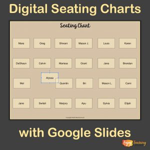 Digital Seating Charts Cover