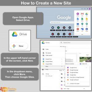 Make New Google Sites 1