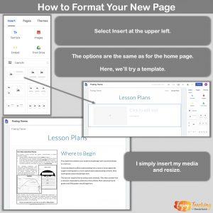 Make New Google Sites 9