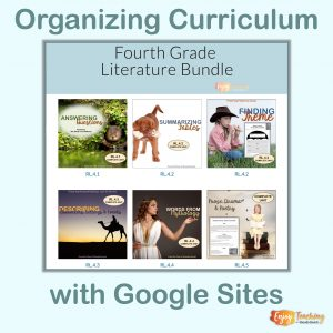 Teaching with Google Sites - Organizing Curriculum