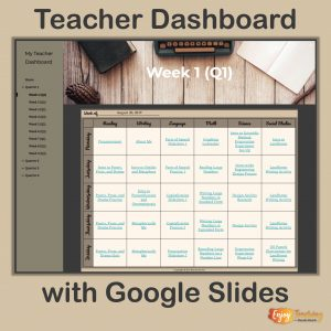 Build a Teacher Dashboard with Google Sites