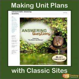Classic Google Sites Lesson Plans