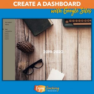 Teachers use Google Sites to create the ultimate dashboard.