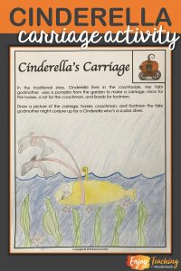 Have some fun with your Cinderella unit. Activities like this creative carriage prompt will engage your third grade, fourth grade, and fifth grade students.