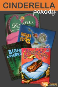 Parodies like Cinder Edna, Bigfoot Cinderrrrrella, Bubba the Cowboy Prince, and Dinorella are great for your Cinderella unit. Students in third grade, fourth grade, and fifth grade still enjoy them.
