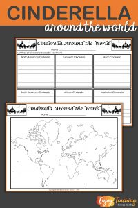 Cinderella Around the World Analysis Table and Map