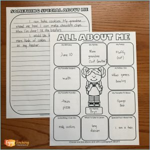 Back-to-School Writing Freebie