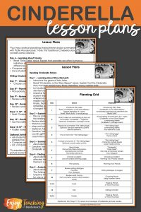 These complete lesson plans lay out a Cinderella unit for third grade, fourth grade, and fifth grade students.