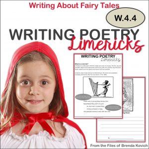 Writing Limericks ELA Activities