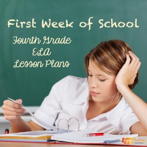 Check out these first week of school lesson plans for fourth grade!