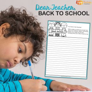 Grab this free back-to-school template and get the writing samples you want. You'll also get to know your third grade, fourth grade, and fifth grade students.