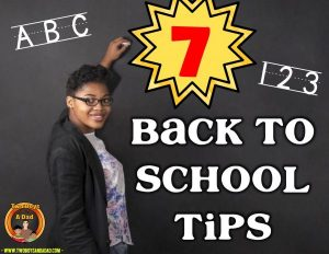 7 Back to School Tips from Two Boys and a Dad