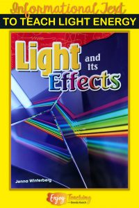 This light energy book reinforces important science concepts.
