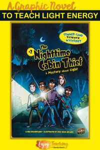 Your students will love reading this graphic novel - and learning about light!
