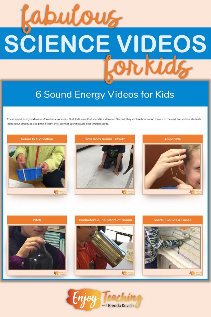 Sound Energy Videos for Kids