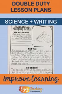 Add some research to your science unit! That way, you get a double duty lesson plan.