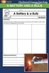Kick off your current electricity unit with this battery and bulb activity. Fourth grade students use inquiry to learn about electrical circuits.