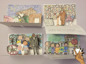 Celebrate African American heritage with these cute pop-up books. They make a great display for Black History Month.
