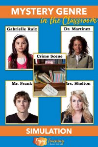 Stage a mystery in your classroom. Your third, fourth, or fifth grade students will love acting like detectives while you're teaching the genre of mystery.