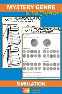 Ask your third, fourth, or fifth grade students to act like detectives. In this mystery simulation, they use pictorial evidence, interviews, fingerprints, powder analysis, and chromatography to crack the case.