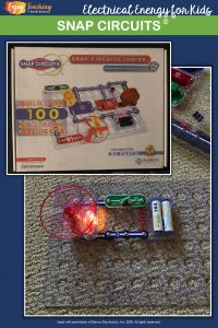 Snap Circuits provide dozens of hands-on electricity activities for kids. Get some for your fourth grade classroom - and watch your students learn as they play.