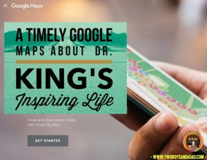 This MLK Google Maps activity is a great way to celebrate Black History Month.