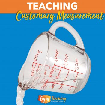 Ease fourth grade students into customary units of measurement with scaffolding.