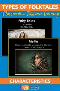 Help kids distinguish between types of folktales with characteristics, structures, and purposes.