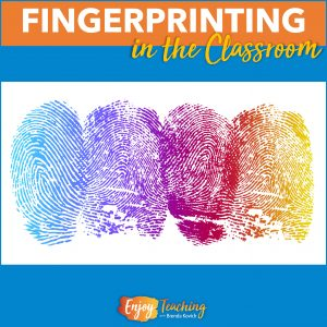 Fingerprinting activities are great for mystery units or art projects.