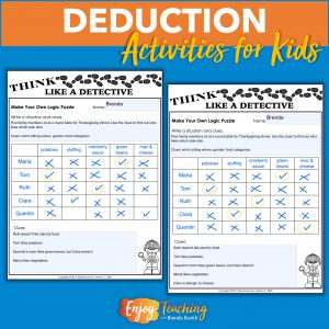 Logic Puzzles for Kids Cover