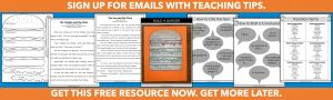Sign up for emails. Get this free hamburger resource now. Get more freebies later.