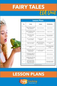 Grab this set of fairy tale lesson plans for free! They give you two full weeks of balanced ELA instruction.