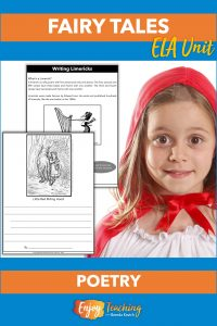 Teach kids about limericks. Then ask them to write limericks about fairy tale characters. It's a creative way to teach character analysis - and foster critical thinking!