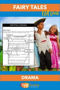 Teach kids the structures of drama - then let them convert fairy tales to plays.