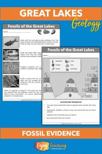 Kids take a look at fossil evidence exposed by Great Lakes glaciers to learn about the past.