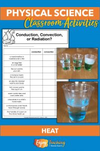 In these physical science activities, ids explore thermal energy with hot and cold water.
