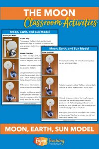Kids build a model of the Earth, Moon, and Sun to explore their relative movements.