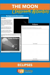 Kids manipulate their Earth-Moon-Sun models to show solar and lunar eclipses.